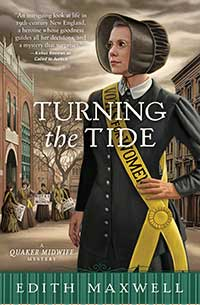 book cover - Turning the Tide by Edith Maxwell